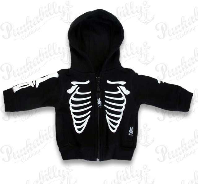 Skeleton Baby Jacket