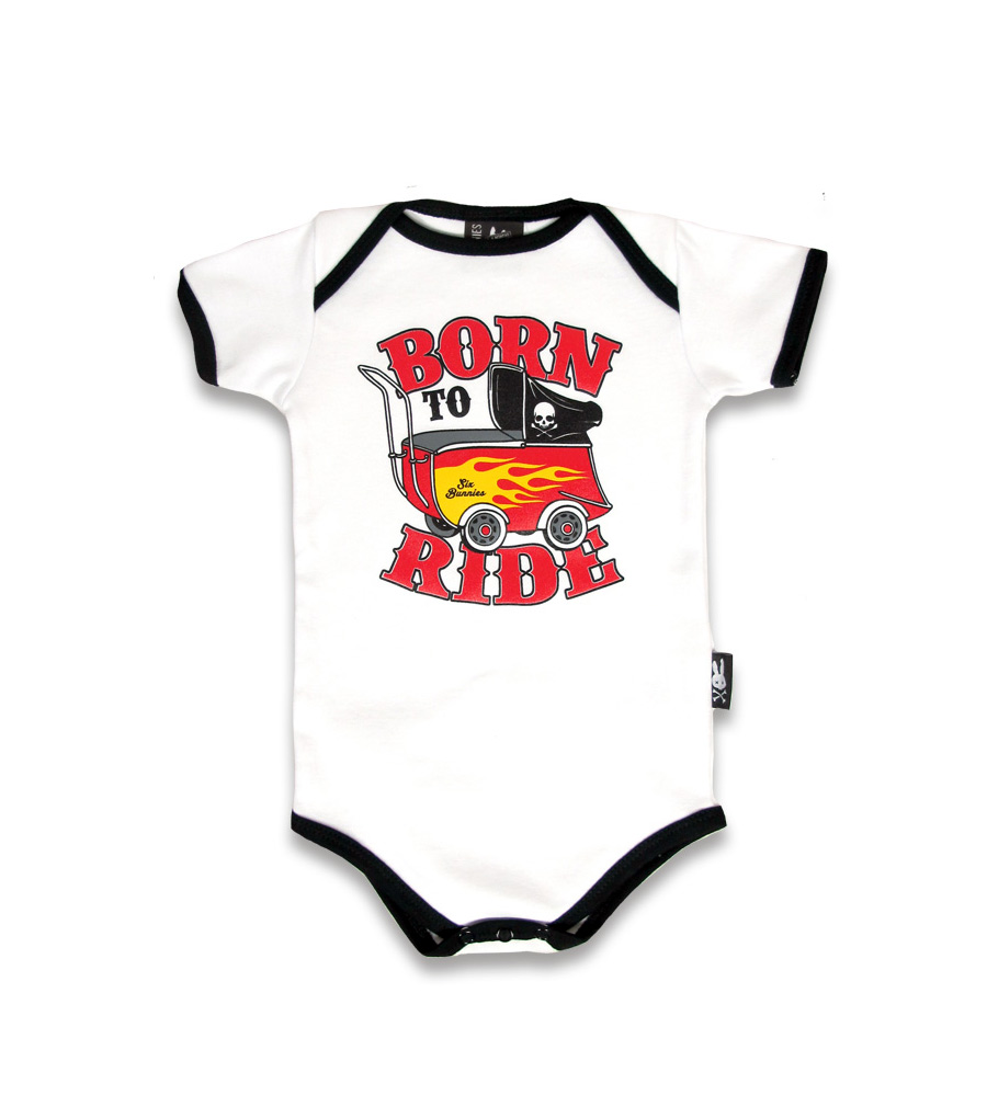 """Born To Ride"" Baby Onesie"