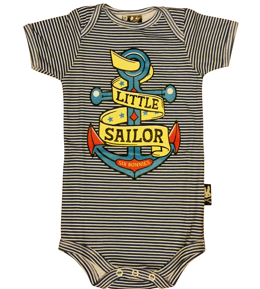 Little Sailor Baby Onesie