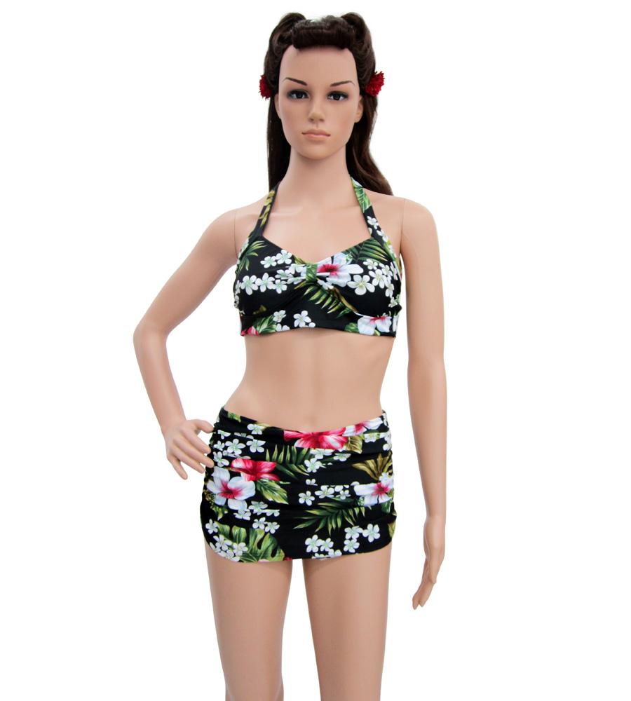Retro Hawaiian style Bikini