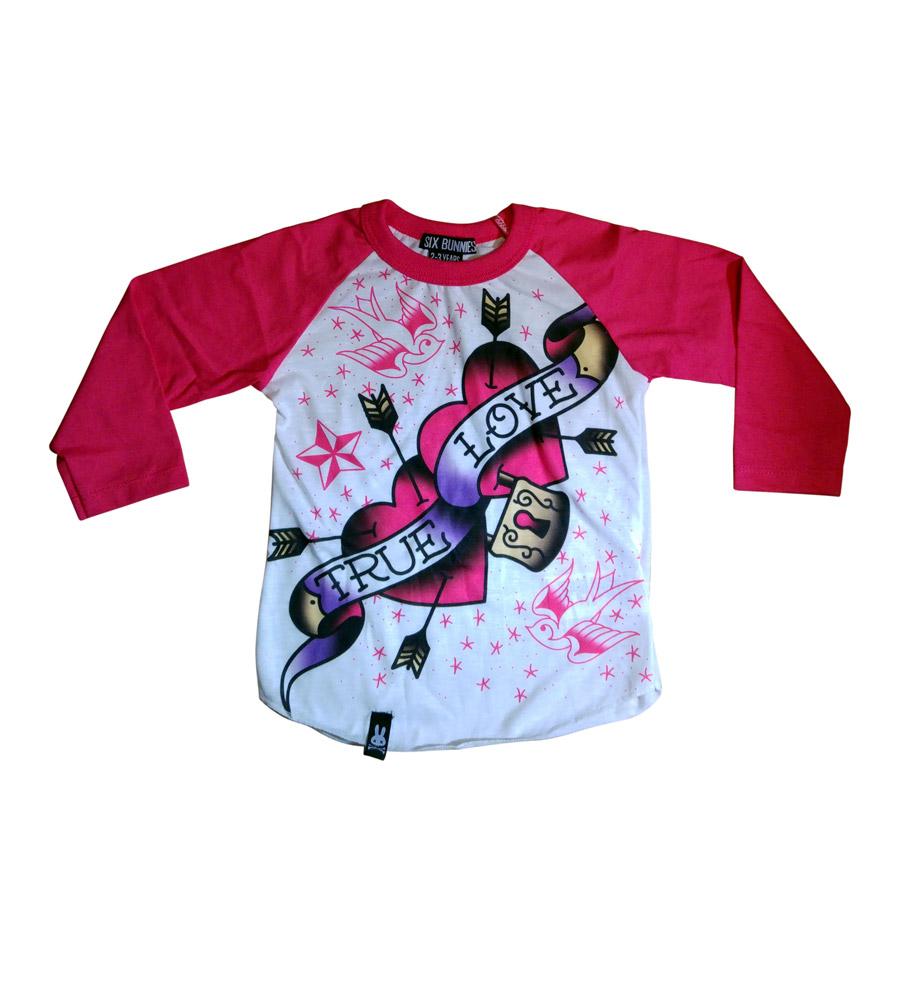 """Pink """"True Love"""" T-Shirt"""