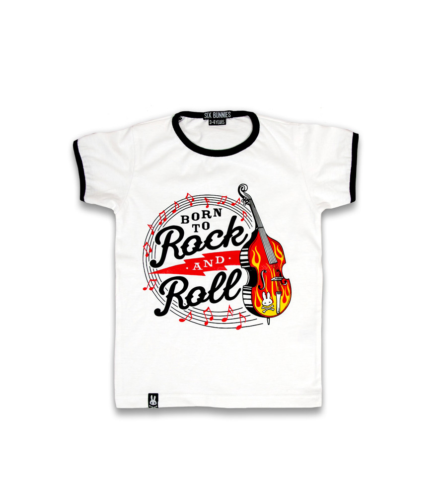 """Born To Rock And Roll"" Kid T-Shirt"