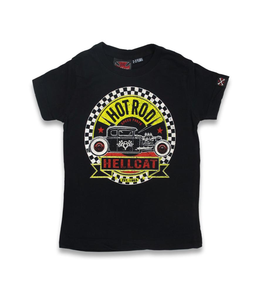HotRod Speed Parts Hellcat kids t-shirt