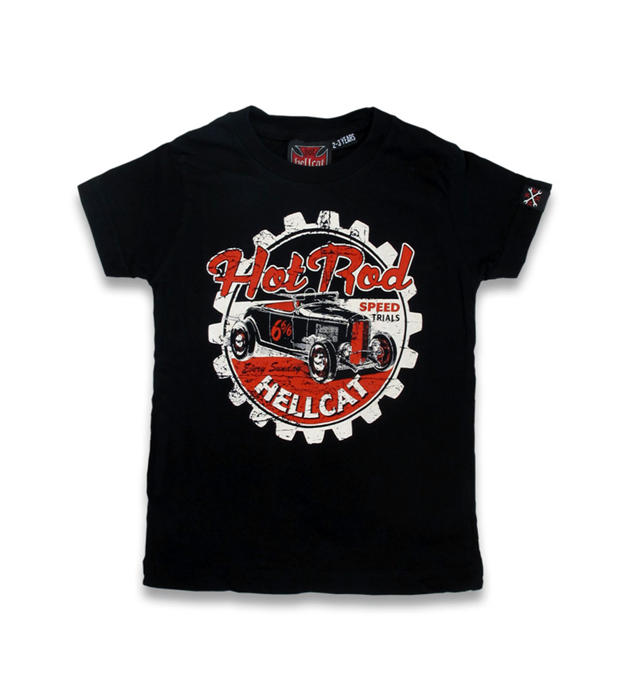 Classic Hot Rod rockabilly kids t-shirt