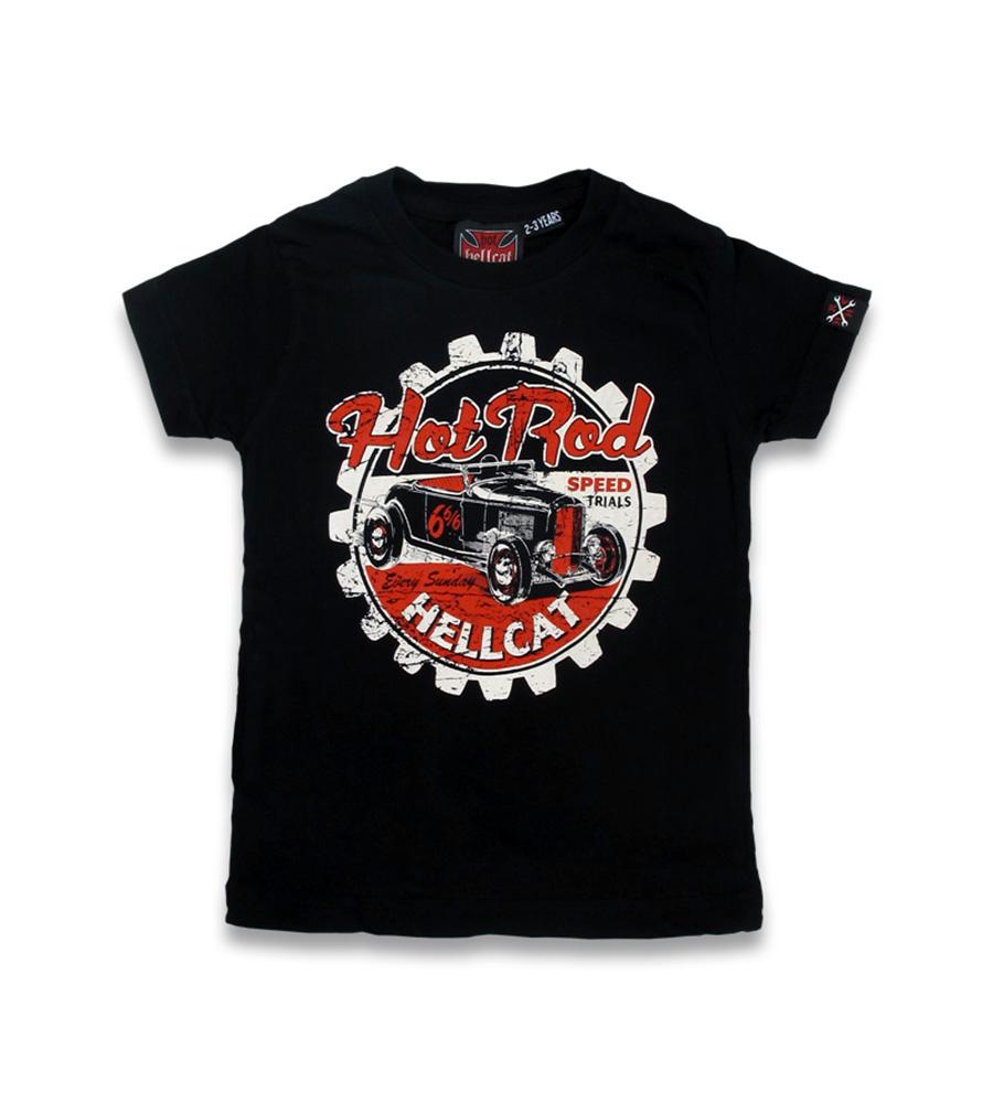 Classic Hot Rod rockabilly kid