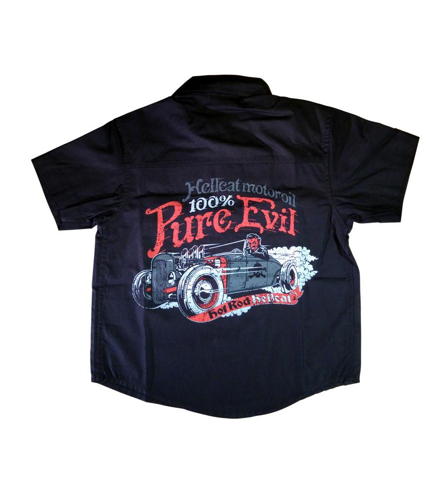 Devil Rod Boy Work Shirt