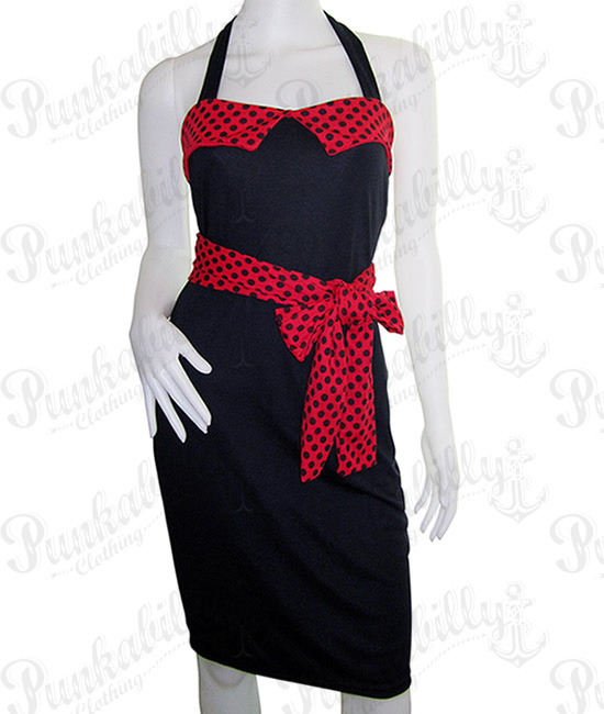 Rockabilly Polka Dots Dress