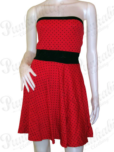 Rockabilly Polka dot wiggle Dress