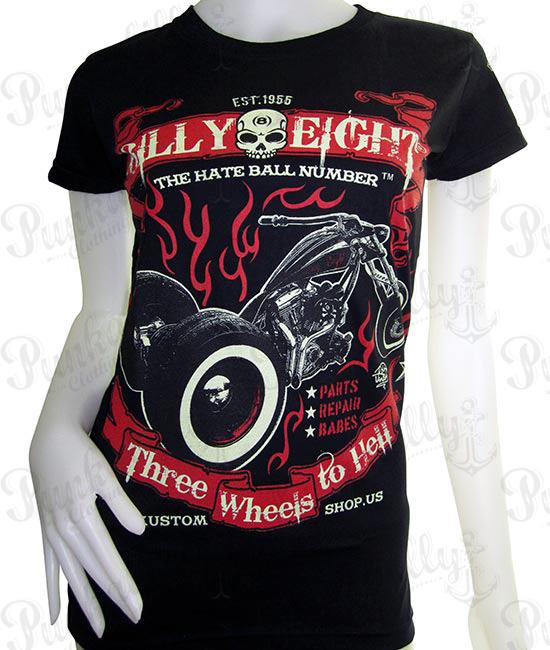 """Three Wheels to Hell"" T-Shirt"