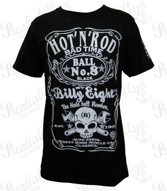 "Rockabilly ""Hot N Rod"" Man T-Shirt"