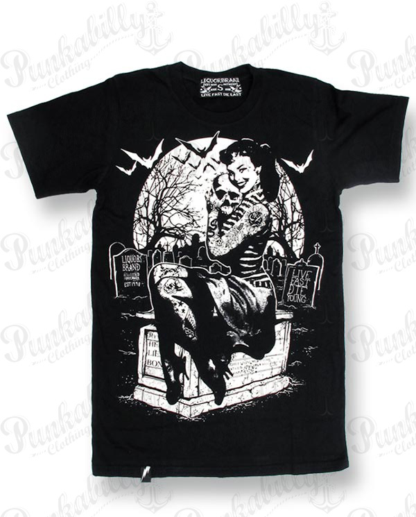 """Graveyard Girl"" Man T-Shirt"