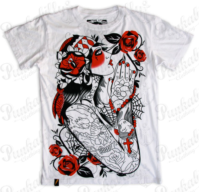 """Gipsy"" Man White T-Shirt"