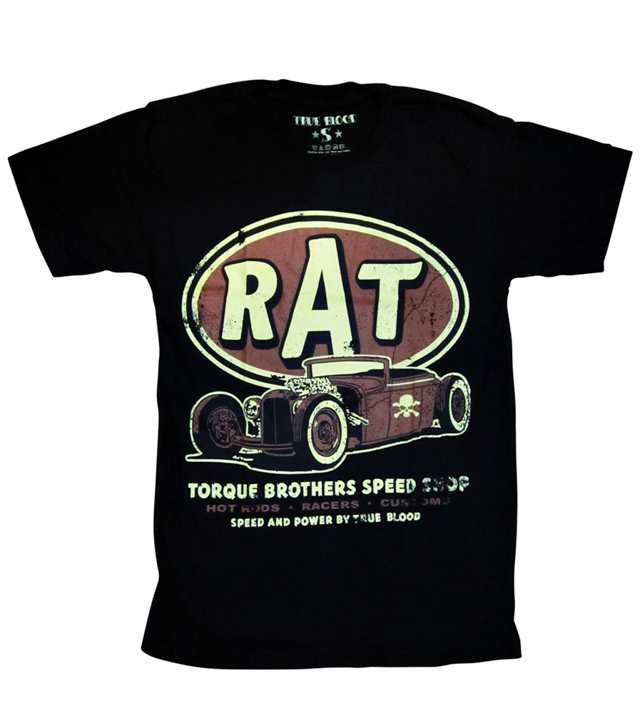 """RAT"" Hot Rod T-Shirt"