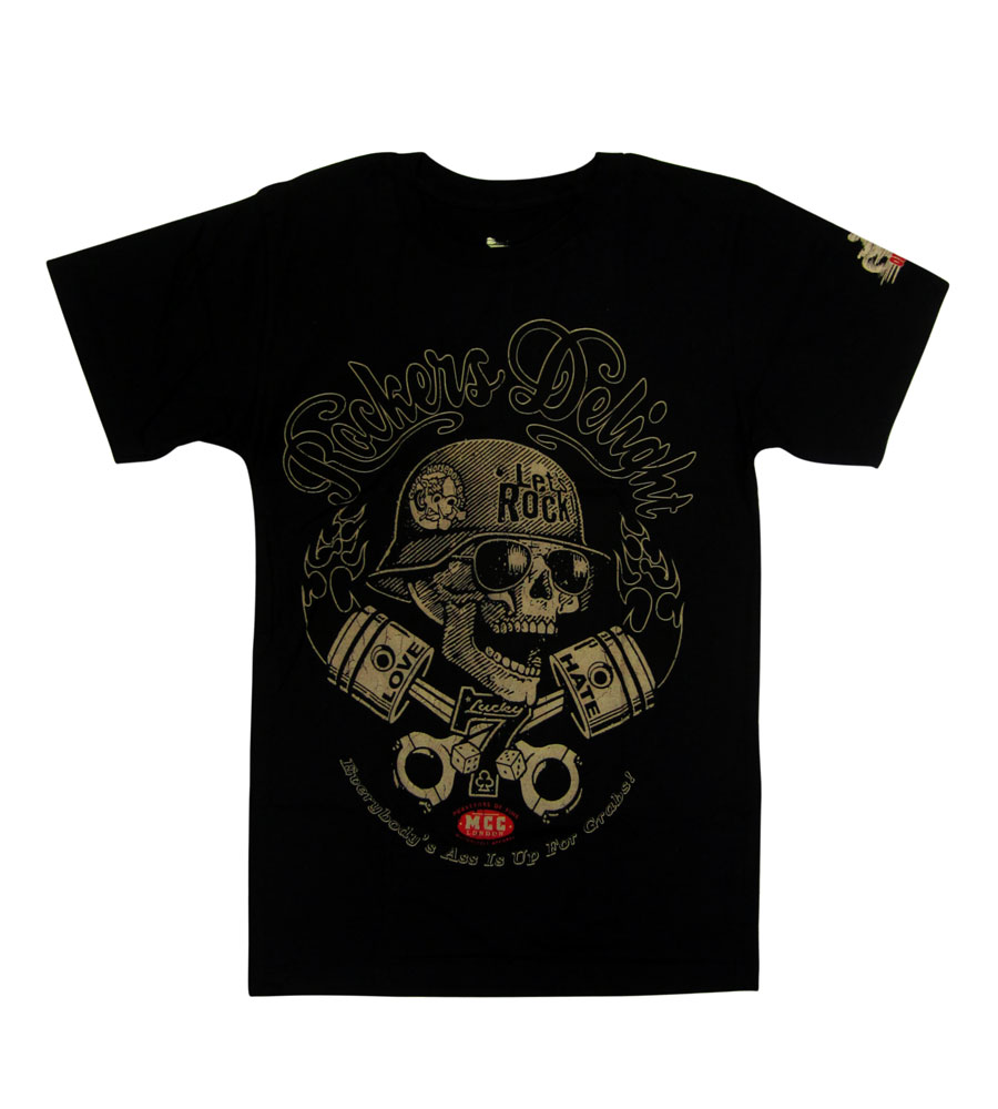 """Rocker Delight - LOVE HATE"" T Shirt"
