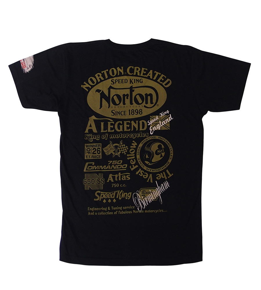 """Norton Created Speed King"" Man T-Shirt"