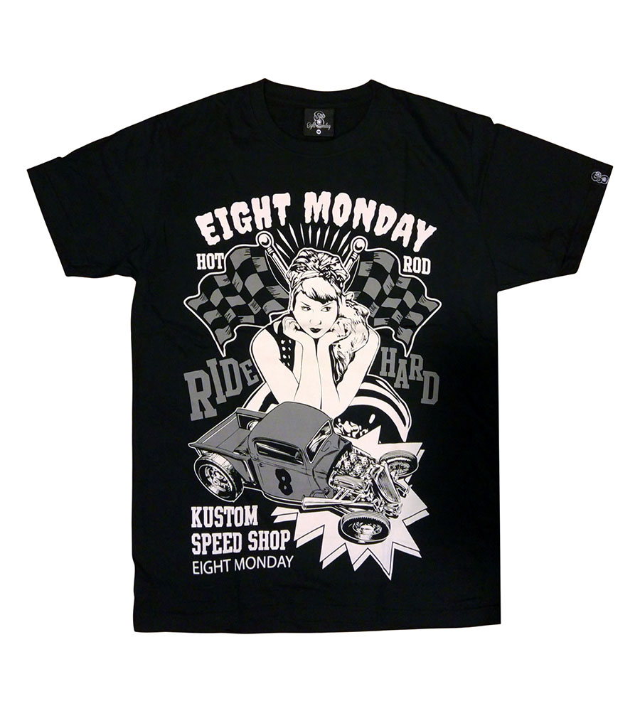 Rockabilly hot rods Eight Monday T-Shirt