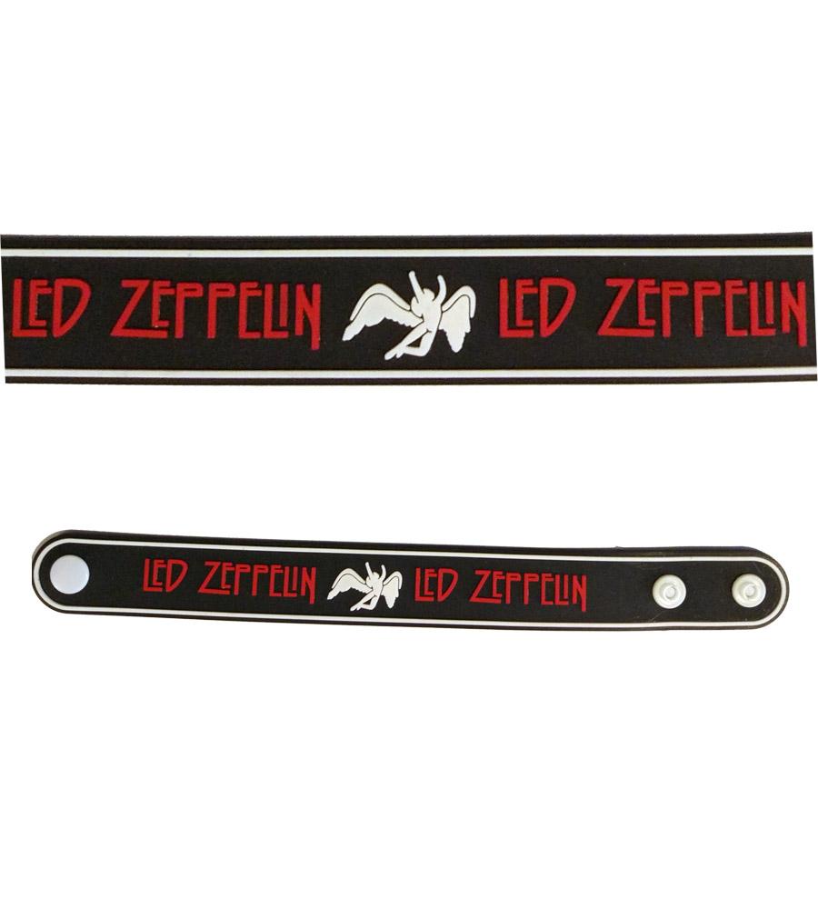 Led Zeppelin Rubber Bracelet