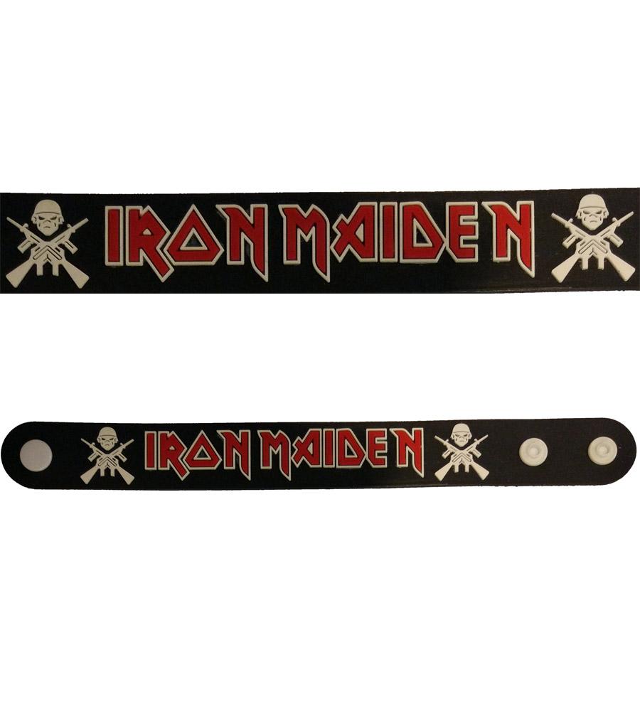Iron Maiden Rubber Bracelet