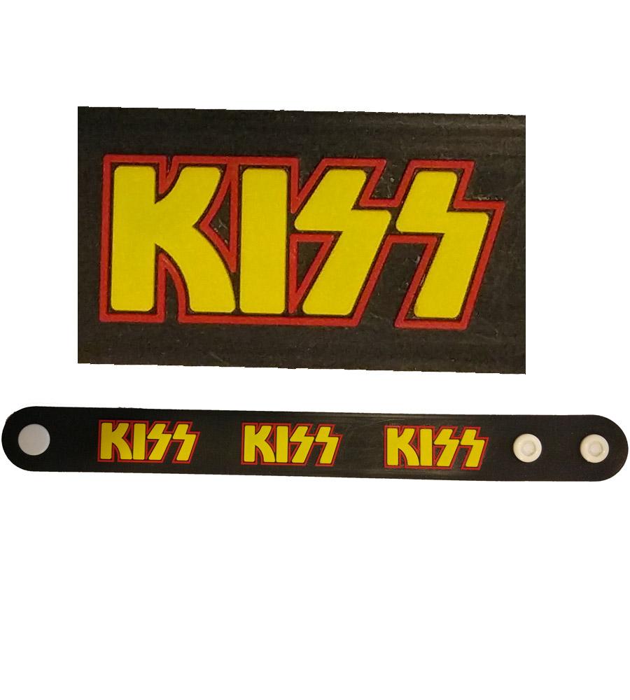 Kiss Rubber Bracelet