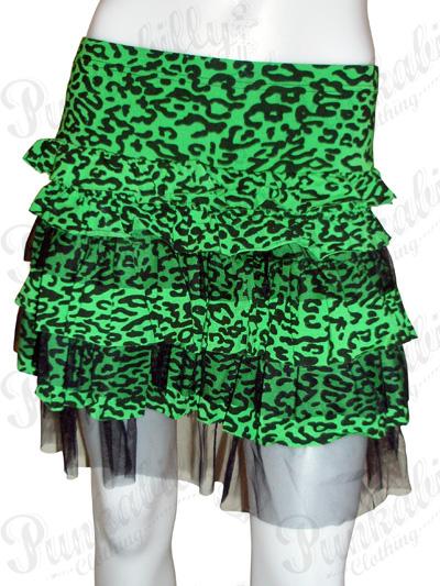 Rockabilly Leopard Skirt