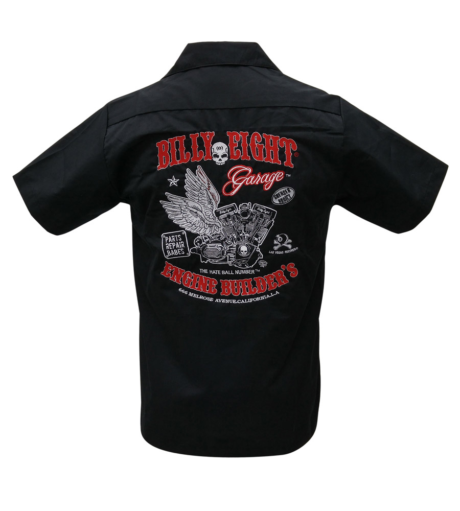 Engine Builders rockabilly work shirt