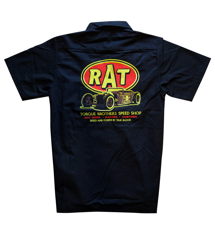"""RAT"" Mens Work Shirt"