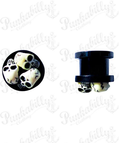 Acrylic Skulls Plug