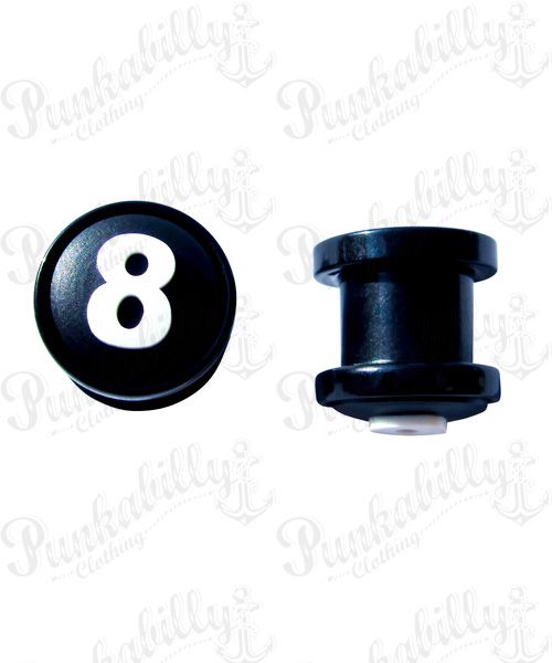 Silicon 8 Ball design Plug