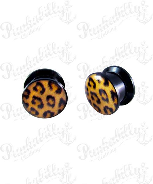 Leopard Acrylic Plug