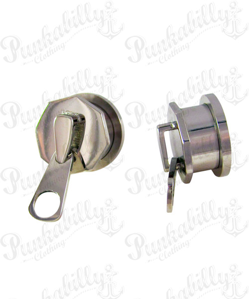 Stainless Steel Zipper design plug