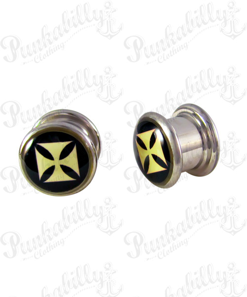 Stainless Steel Iron Cross Plug