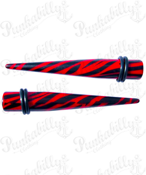 Red & Black Zebra Taper Expander