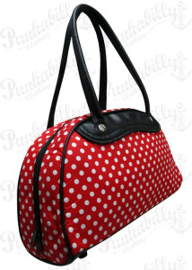 Rockabilly Bags Polka Dots Bag