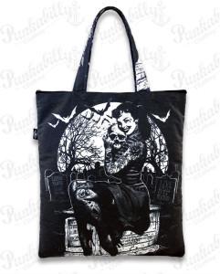 Rockabilly Bags Graveyard Totebag