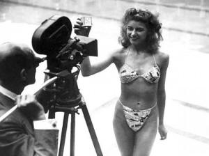 Vintage swimwear