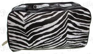 Rockabilly Bags Zebra Pouch