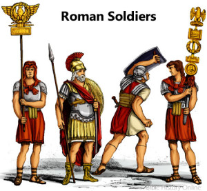 Skirts: Collection of skirts for Roman soldiers