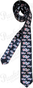 Punk ties: Punkabilly tie