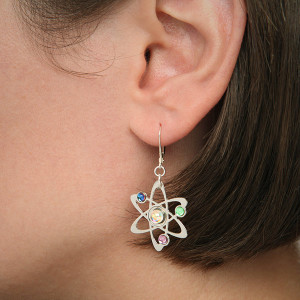 interesting lobe earrings