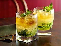 1950's cocktails - Mint Julep