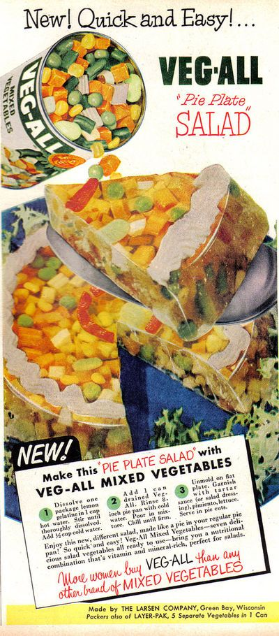 5 Truly Disgusting 1950s Food made with Jello