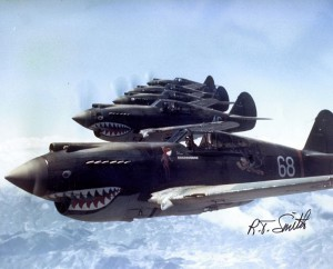 Nose art on the Flying Tigers
