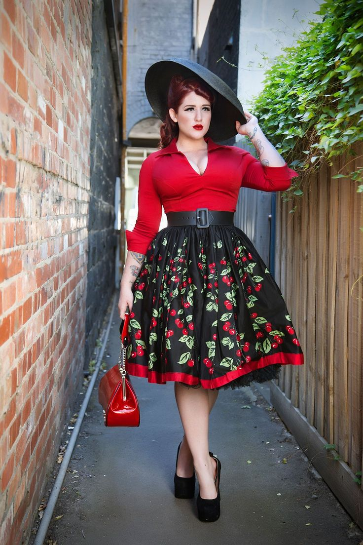 Plus Size Rockabilly Clothing that Flatters your Body