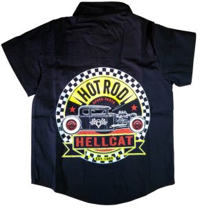 Rockabilly Kids Clothes Work Shirt