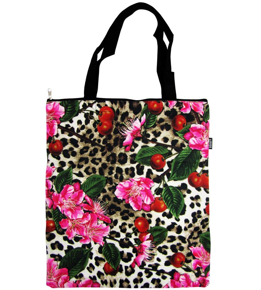 Leo Cherryblossom Canvas Bag