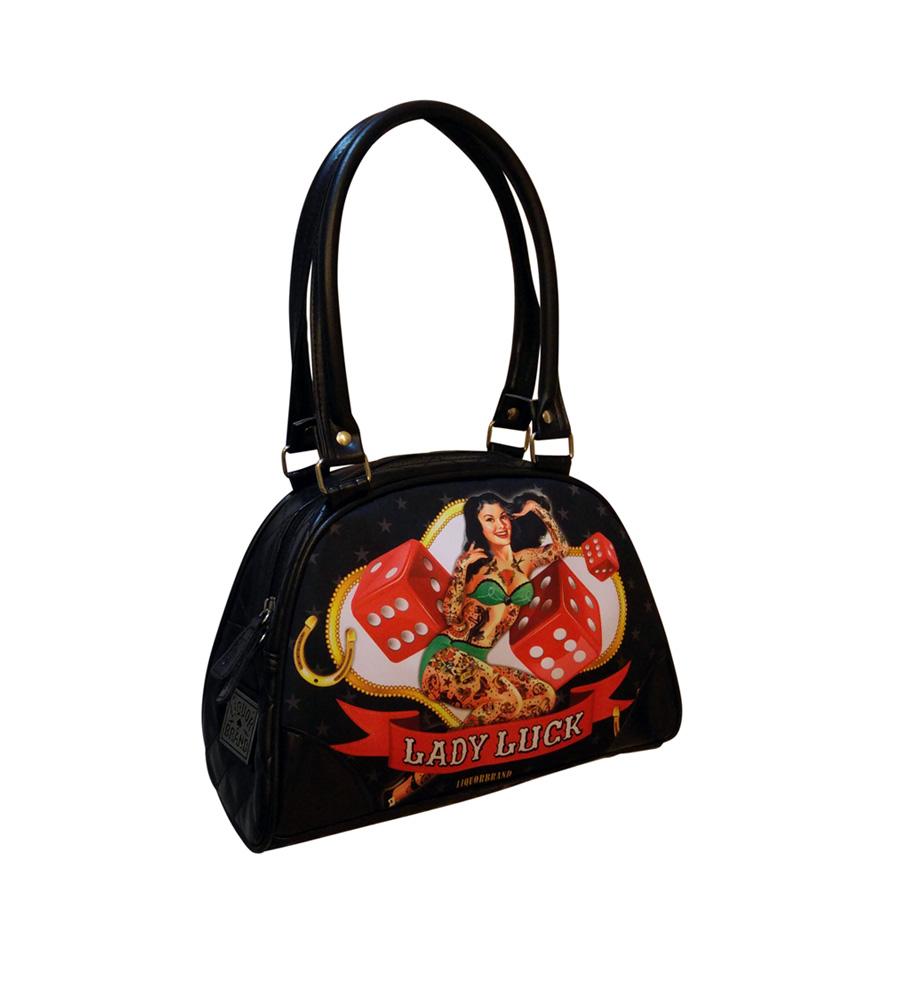 Lady Luck Rockabilly Bowling Bag
