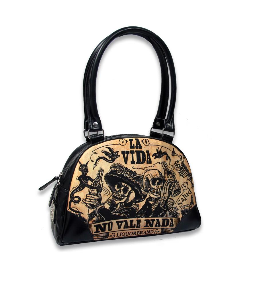 La Vida Rockabilly Bowling Bag
