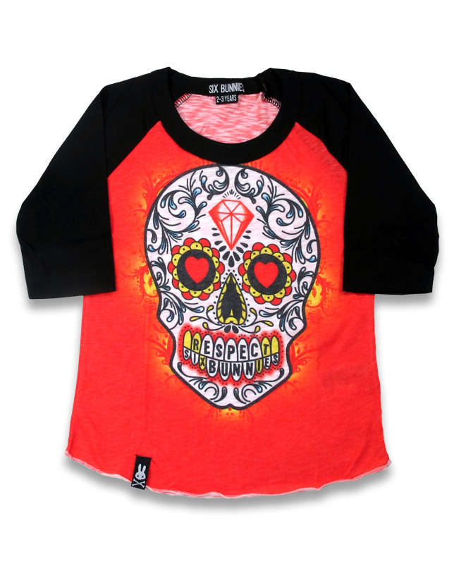 Tattoo Skull Red Shirt