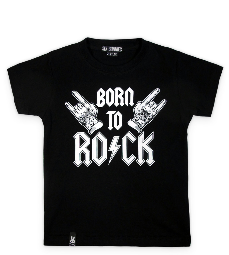Born To Rock Rockabilly kid's t-shirt