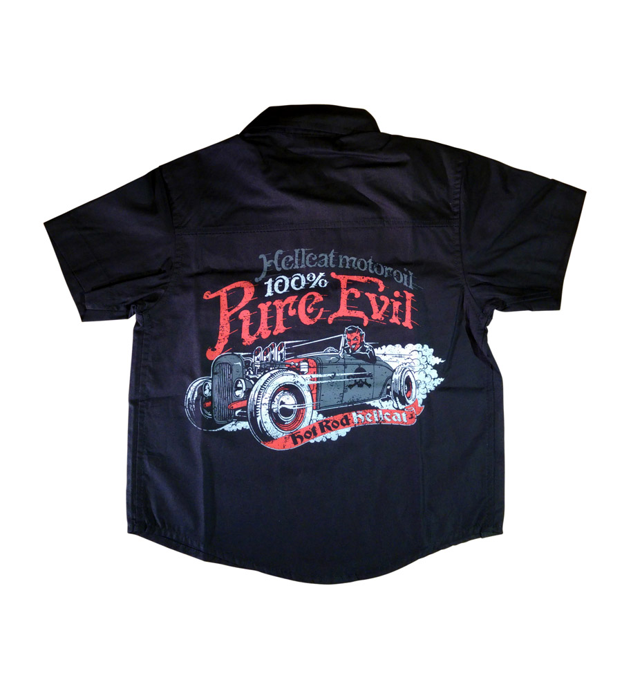 Devil Rod Boy Work Shirt